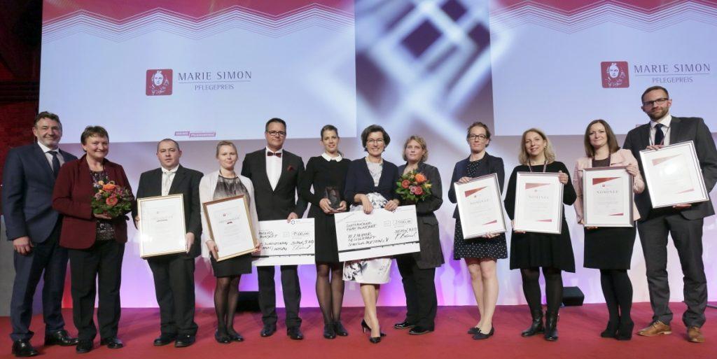 Übergabe Marie Simon Preis